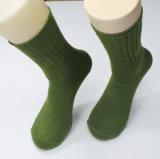 Degli uomini superiori di inverno di sport dei calzini calzini dell'esercito all'aperto