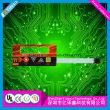 Panneau de contrôle résistif fait sur commande de membrane d'écran tactile pour la machine électronique
