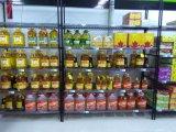 Cremagliera di visualizzazione d'acciaio del supermercato della strumentazione commerciale di alta qualità, approvazione del NSF