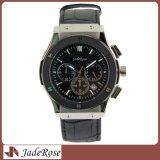 Wristwatch классического вахты кварца кожи календара роскошный для людей