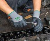 3/4의 니트릴 코팅을%s 가진 기름 증거 일 장갑이 13 계기에 의하여 뜨개질을 했다