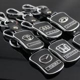 Divisa de la muestra del símbolo de la insignia del Keyring de Keychain del emblema de Audi
