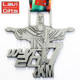 安い習慣3D賞の記念品カトリック教の吊り下げ式メダル金属