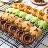 Casseur de biscuits de myrtille de canneberge de noix de saveur de Rose de qualité de Halal