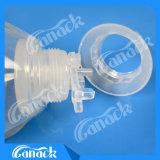 Alcantarillado cerrado de la herida del silicón de la buena calidad con los drenes