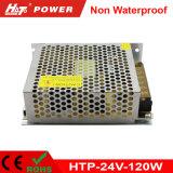120W alimentazione elettrica costante di commutazione del driver 24V di tensione 24V LED