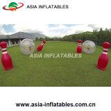 Juegos humanos al aire libre de la botella del bowling de Zorb