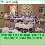 Sofà domestico alla moda/Loveseats dell'angolo del tessuto del salone della mobilia