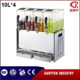 飲み物4タンク(GRT-LRYJ10L*4)を保つための感動的な飲料ディスペンサー