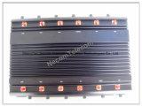Jammer/construtor do GPS de 12 canaletas para 2g+3G+2.4G+4G+GPS+VHF+UHF
