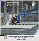 China avanzó la cadena de producción de la tarjeta de la pared del yeso para la construcción