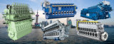 Motor marinho do fuzileiro naval da exaustão dos motores de gasolina do motor Diesel de Yanmar