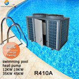 pompa termica aria-acqua commerciale della piscina del termostato 12kw/19kw/35kw/70kw
