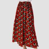 Fleur de qualité élevée de femmes large pantalon jambe