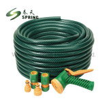 Salve de haute performance force flexible en PVC flexible haute pression de l'eau de jardin