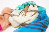 Foulard d'impression par points/Madame en soie purs classiques Scarf