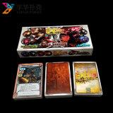 Juego de tablero de la fábrica de profesionales cartas de juego de impresión personalizado