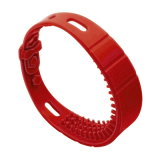 Fournisseurs en caoutchouc de bracelet d'IDENTIFICATION RF de prix bas pour le cargo