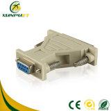 Hembra del PVC 9dp DVI al adaptador masculino de la potencia