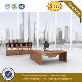 Tableau exécutif de bureau de meubles de pattes en bois modernes en métal (HX-6N008)