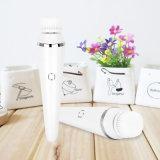 Escova da nova cara que limpa escovas faciais da face da massagem do cuidado de pele da ferramenta do limpador dos TERMAS ultra-sônicos elétricos Multifunction da lavagem