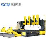 Perforadora movible del pórtico del CNC para las placas