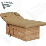 Dossier réglable électrique thérapie moderne Thai Spa Salon de beauté avec le stockage de lit (D14916)