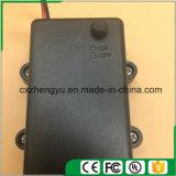 2AA imprägniern Batteriehalterung mit den roten/schwarzen Leitungen, decken ab und schalten