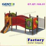 Brinquedos grandes das crianças, equipamento ao ar livre do campo de jogos