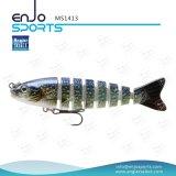 Multi richiamo poco profondo congiunto di pesca dell'attrezzatura di pesca di pesca dell'esca bassa realistica di richiamo