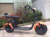 Coc 1500W CE RoHS et aprouvé Scooter électrique avec batterie au lithium amovible
