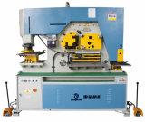Q35y-20 de hydraulische Gecombineerde Machine van het Ponsen en het Scheren