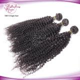 Выходцев из вьющихся волос Virgin Камбоджи 100% волос человека плетение бесплатная доставка