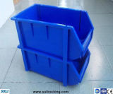 De stapelbare Industriële Bakken van de Opslag van de Delen van het Pakhuis Plastic
