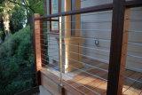 고품질 현대 디자인 스테인리스 발코니 철사 방책