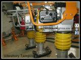 4.0kw/5.5HP Stamper van het Opvulmateriaal van de Grond van de benzine de Trillings gyt-72h