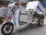 درّاجة ثلاثية كهربائيّة لأنّ تنظيف/كهربائيّة نفاية درّاجة ثلاثية مع [رووف/] نفاية [تريك] مع [سكوتر]