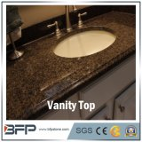 Parti superiori nere di vanità della stanza da bagno di Granite&Marble con il dispersore