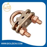 Abrazadera del cobre U/fabricante puros de cobre amarillo del conector de cable de cobre de Zhejiang