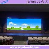 P3.91広告のためのレンタルフルカラーのLED表示パネルスクリーン(500X500キャビネット)