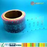 Tag passivos do embutimento da freqüência ultraelevada RFID do ADN do costume UCODE da proteção do tipo