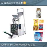 Empaquetadora automática del gránulo de los granos de café de la vertical 1kg 5kg
