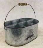 분할되는 자연적인 타원형 주석 금속 물통
