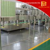 Linha simples da lavagem da operação, do enchimento e tampar de produção