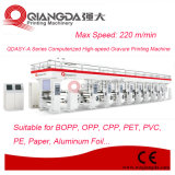 Qdasy-a Series informatisé à grande vitesse Flexible Package Gravure Printing Machinery