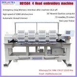 Holiauma 4 dirige le prix de machine de broderie automatisé 15 par couleurs en Chine avec du ce, conformité de Gsg
