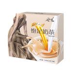 ミルクの茶を細くする7日の食事療法のSatietyの食事の置換