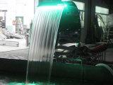Cortina d'acqua cambiante della piscina di colore dell'acciaio inossidabile LED di Fenlin