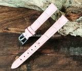 Cinta de relógio de couro das mulheres