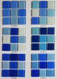 Het blauwe Mozaïek Chiap van de Tegel van het Zwembad Chinese